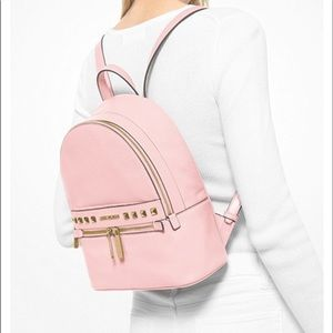 MICHAEL KORS Kenly MD Studded Backpack POWDER BLH